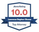 10 Avvo Rating Lawrence S. Glosser