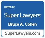 Super Lawyers Award Bruce A. Cohen